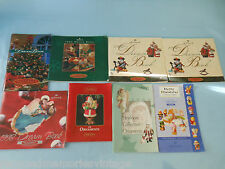 Carlton Heirloom Collection Hallmark  Dream Book ornaments Rosies guide lot of 9