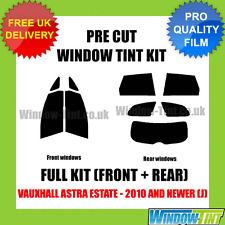 VAUXHALL ASTRA ESTATE 2010+ (J) FULL PRE CUT WINDOW TINT KIT
