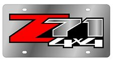 New Chevrolet Z71 4X4 Stainless Steel License Plate