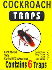 Cockroach Glue Traps Poisen Free Killer Insects Ant Bug Flea Beetle Pest Control