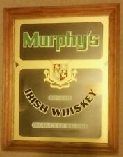 "Murphy's Irish Whiskey Mirror Sign 20 1/2 "" X 16 1/4 """