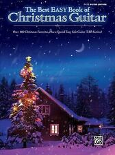 The Best Easy Book of Christmas Guitar : Over 100 Christmas Favorites...