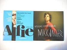 Unique Lot de 2 CD Single ▬ MICK JAGGER ▬ Port GRATUIT