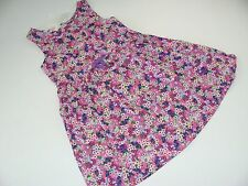 H&M Dress Girls Girl Size 4-5 Years NWT NEW Floral Pink Purple Green  Flower