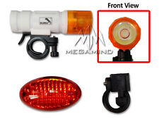 SMD Head & 5 LED Tail Light Kit For Bike Bicycle Cycle Torch Headlight Lamp