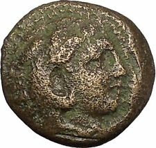 Alexander III the Great as Hercules 336BC Ancient Greek Coin Bow Club i51655