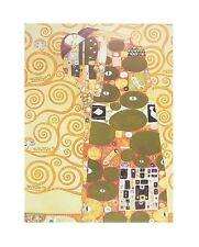 Gustav Klimt Die Erfüllung Poster Kunstdruck Bild 40x50cm - Kostenloser Versand