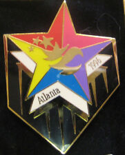Atlanta 1996 Olympic Games Pin - Stars And Stripes Multicolored