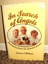 IN SEARCH OF ANGELS by Arvin Gibson 1990 1STED LDS MORMON DO ANGELS EXIST?? RARE