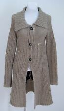 WOMENS GAUDI CARDIGAN JACKET WOOL MOHAIR BLEND GREY SIZE XS XSMALL EXCELLENT