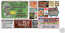 HO Scale Food & Beverage Building / Structure Decals #7