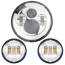 """7""""Motorcycle Projector Daymaker Passing For Harley-DAVIDSON Lights LED Headlight"""