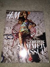 BEYONCE KNOWLES SIGNED AUTOGRAPHED H&M MAGAZINE AUTHENTIC! RARE Beyoncé