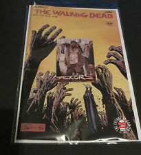 2017 THE WALKING DEAD #163 CONQUERED & FREE WALKERS  W5 TOPPS ZOMBIE INSERT CARD
