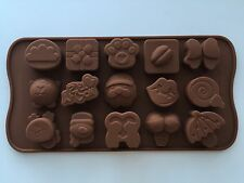 Christmas Santas Chocolate Cake ice Cookie bakery Silicone Mold Mould Decorating