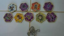 TAKAHASHI YU-GI-OH Metal MEDALLION Token Charm LOT of 9 Different