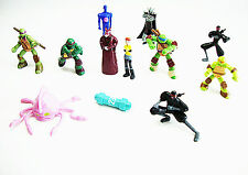 Teenage Mutant Ninja Turtles Cake Toppers De 12 Figuras Y Regalo Gratis millones libre p+p