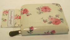 LP70949- Ladies Beige Floral Zip Around Purse. ONLY £6.99!