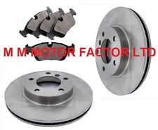 BMW 3 SERIES E46 316i SE (98-02) FRONT 286mm VENTED BRAKE DISCS AND PADS SET