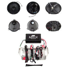 J&M Rokker XXR 4 Speaker & 630W Amp Kit 2014 & Up Harley Street Glide wRear Lids