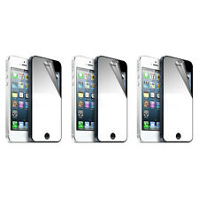 3X Mirror LCD Screen Protector Anti-Scratch Guard Shield For Apple iPhone 5S 5