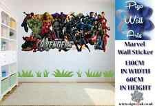 Marvel Wall Sticker Kids Bedroom Wall Sticker Marvel Group Extra large