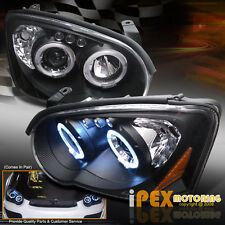 *BLACK DEVIL EYE* 2004-2005 Subaru Impreza WRX STi LED HALO Projector Headlights