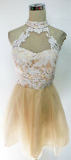 MASQUERADE White / Ivory Dance Prom Party Dress 7 - $95 NWT