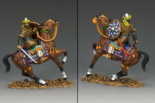 KING AND COUNTRY Crusades Mounted Bodyguard   MK114
