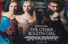 Cinema Poster: OTHER BOLEYN GIRL, THE 2008 (Quad) Eric Bana Natalie Portman
