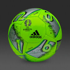 New Adidas Euro Cup 2016 Match Ball Replica Size 4-Green Soccer ball Football