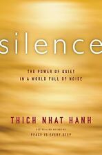 SILENCE Thich Nhat Hanh BRAND NEW HARDCOVER BOOK Ebay BEST PRICE!