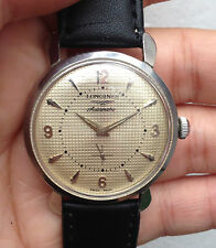 Vintage Longines automatic sub-second textured dial 1950s-1960s