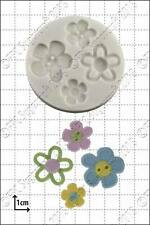 Silicone mould Flower Buttons | Food Use FPC Sugarcraft FREE UK shipping!