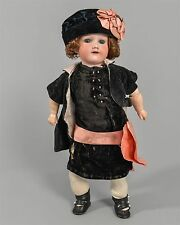 "Antique 15"" Armand Marseille Girl Doll #390 Porcelain Bisque Germany A 2/0 M"