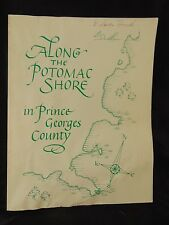Book Along the Potomac Shore in Prince Georges County local history 1983 garden