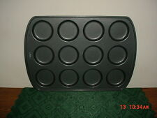 WILTON 12-BISCUIT OR MACAROON MOLD/NON-STICK/BAKING PAN/STAMPED/CLEARANCE!
