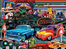 Jigsaw puzzle Car Americana Flashbacks 1000 piece NEW Made in USA