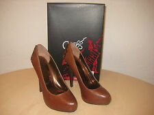 Carlos Santana Shoes Size 6 M Womens New Lust B3857L3200 Brown Leather Pumps