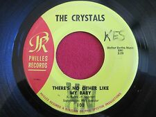 DOOWOP 45 - THE CRYSTALS - NO OTHER LIKE MY BABY / OH YEAH MAYBE BABY - PHILLIES
