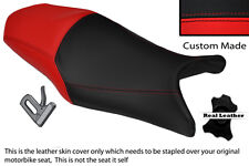 BLACK & RED CUSTOM FITS YAMAHA XJ6 600 F DIVERSION XJ6N 09-13 DUAL SEAT COVER
