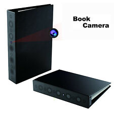 1080P HD Spy Book Camera Home Security Night Vision Motion Activated Hidden DVR