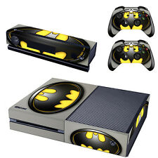 Batman Skin Sticker for Xbox One Console Kinect 2 Controller Cover