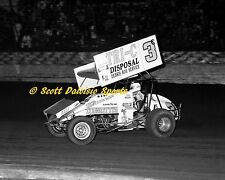1988 Jimmy Sills World of Outlaws 8 X 10 Ascot Sprint Car Photo