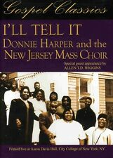 Donnie Harper and the New Jersey Mass Choir: I'll Tell It [P&S (2009, DVD NIEUW)