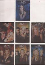Buffy Ultimate Collector's Set Serie 2-C1-C7 Temporada Tarjetas de montaje