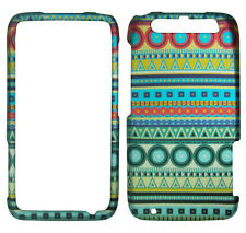 Red Circle Blue Tribal Motorola Atrix HD MB866 Atrix 3  Hard Case Phone Cover