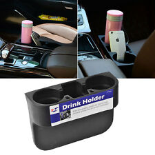 New Black Auto Car Van Seat Phone Can Water Bottle Drink Cup Mount Holder Stand