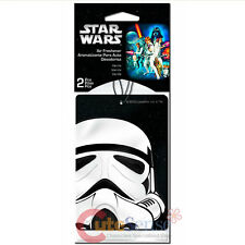 Star wars Storm Trooper 2pc Car Auto Hanging Air Freshener Auto Accessories