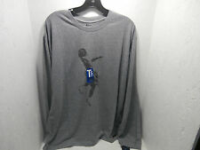 And1 Men's Long Sleeve Top Gray/Black Size Medium New !!!!!